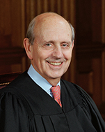 US Supreme Court Associate Justice Stephen Breyer, nominated by Democratic President Clinton in '94 to replace Harry Blackmun