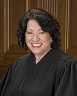US Supreme Court Justice Sonia Sotomayor, nominated by Democratic President Obama in '09 to replace the retiring David Souter